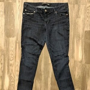 Express womens low-rise jeans size 12R